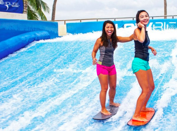 Sentosa Wave House Singapore Things to do with kids families promotion discounts mothers day surf beach