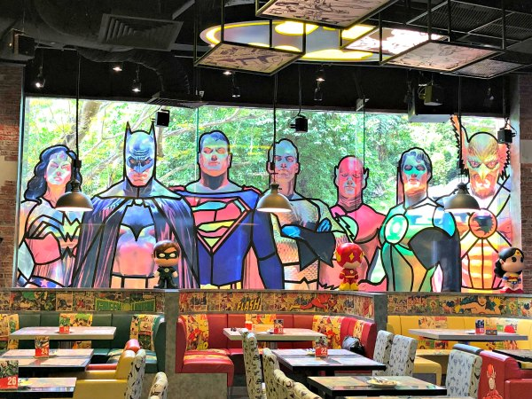 DC Super Comics Super Heroes Cafe Review Singapore Menu Promotion Discounts Food Kids Child Friendly Restaurants MBS Takashimaya 12