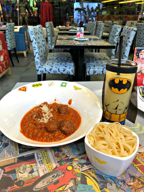 DC Super Comics Super Heroes Cafe Review Singapore Menu Promotion Discounts Food Kids Child Friendly Restaurants MBS Takashimaya 18