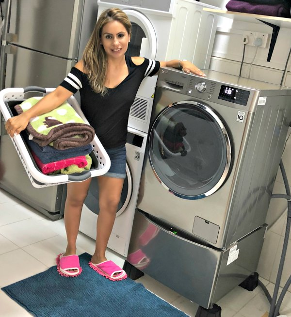 LG TWINWash Washing Machine Review Features Baby Care Allergy Steam Warranty Promotions Singapore