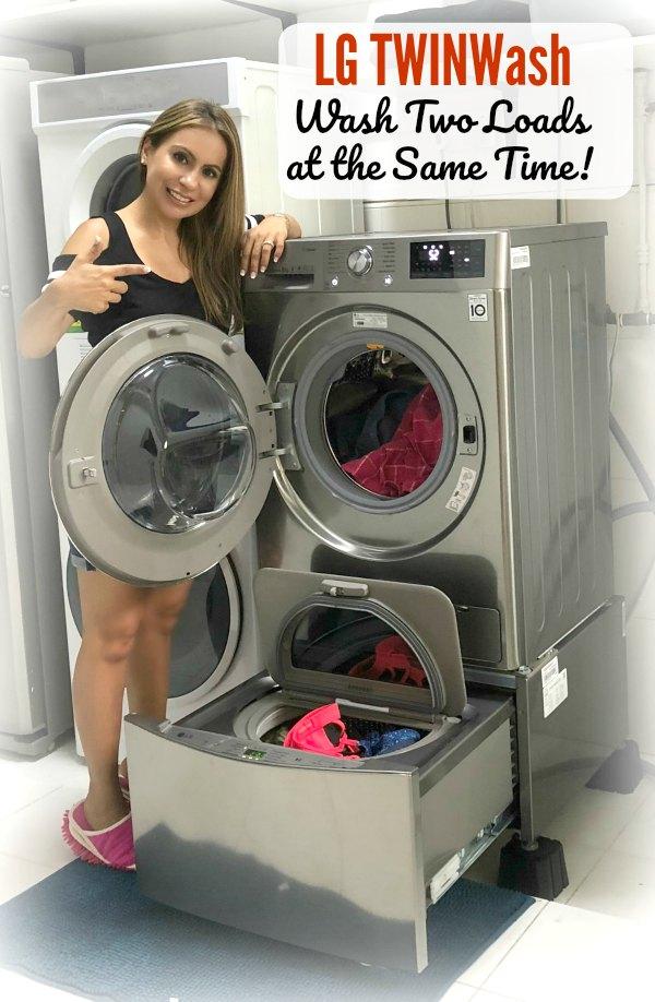 LG TwinWash Review Singapore Washing Machine Promotions Family Baby