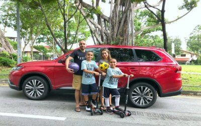 Mitsubishi Outlander – Perfect for a Family on the Go