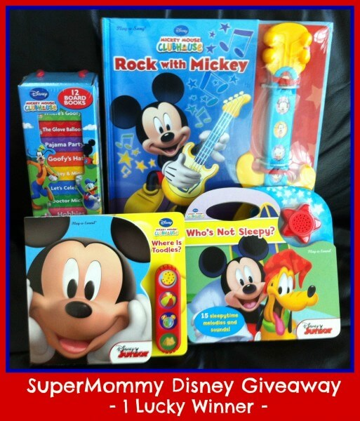 SuperMommy's Super Disney Giveaway