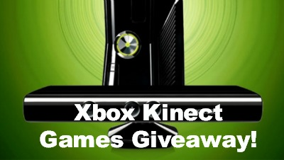 WINNER – Xbox Kinect Games Giveaway
