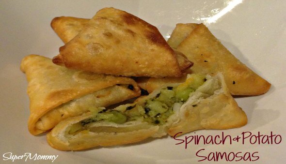 Spinach & Potato Samosa (Party-Sized) Recipe