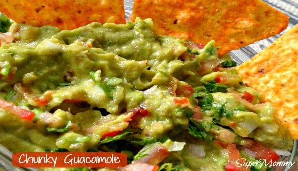 Chunky Guacamole Recipe – A Healthy Food For Kids & Adults