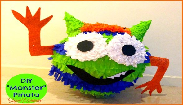 "How To Decorate/Create A ""Monster"" Piñata"