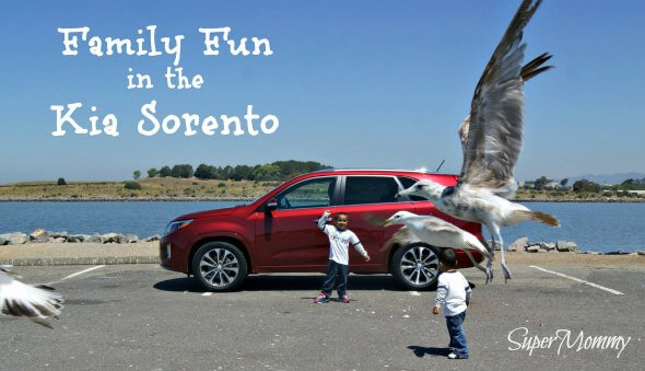 Family Fun in the 2014 Kia Sorento