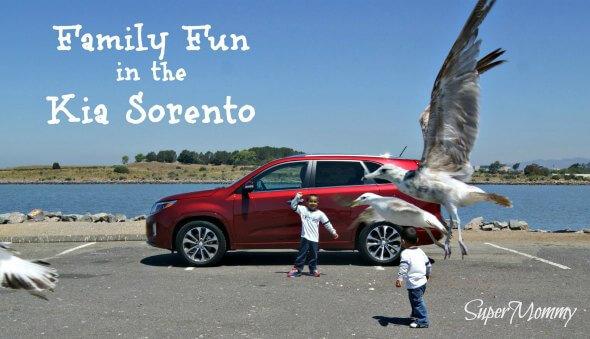 Family Fun in the 2014 Kia Sorento