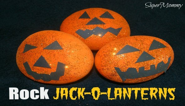 "Halloween ""Rock"" Jack-O-Lanterns"