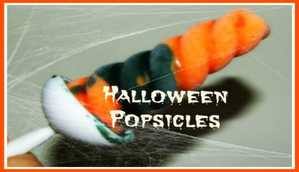 "How to Make ""Healthy"" Halloween Popsicles"