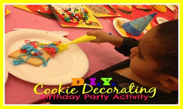 "DIY ""Cookie Decorating"" Party Activity"
