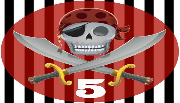 Pirate Themed Party – Invites, Banners, Stickers & More