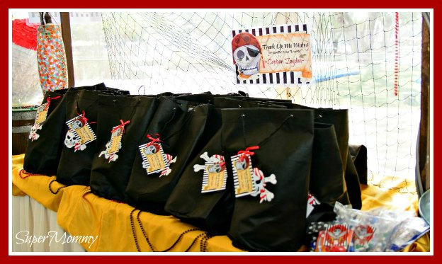Pirate Themed Party – Goodie Bags & Shopping Tips