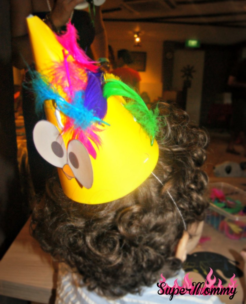 DIY Party Hats - Kids Birthday Party Activity