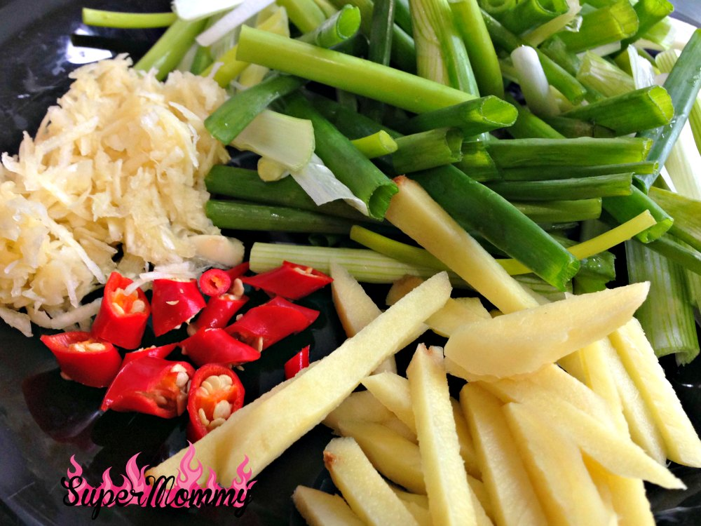 Ginger & Scallion Spicy Beef Recipe
