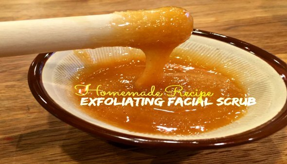 Natural Exfoliating Facial Scrub Recipe