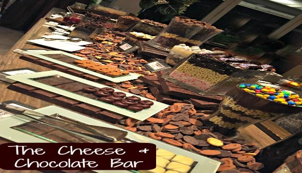 The Cheese & Chocolate Bar at Marina Bay Sands