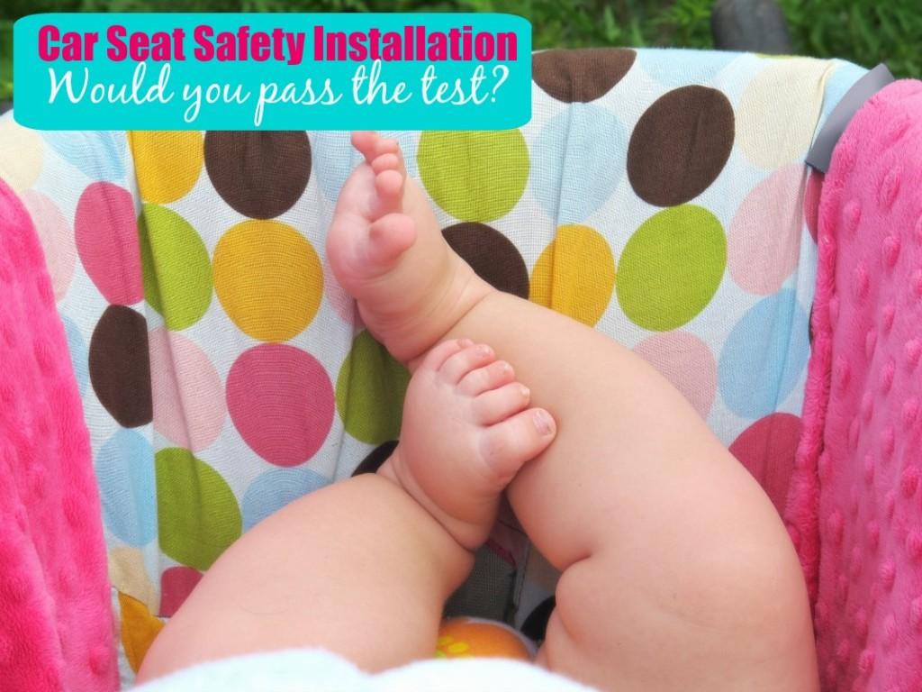 Car Seat Safety Installation
