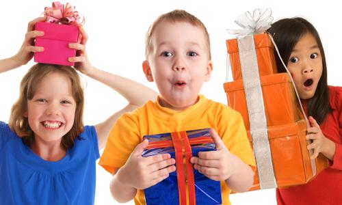 kids birthday party gifts, invites, rsvp