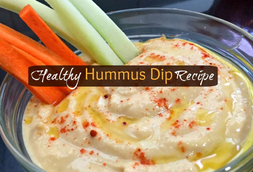 Easy Hummus Houmous party dip recipe