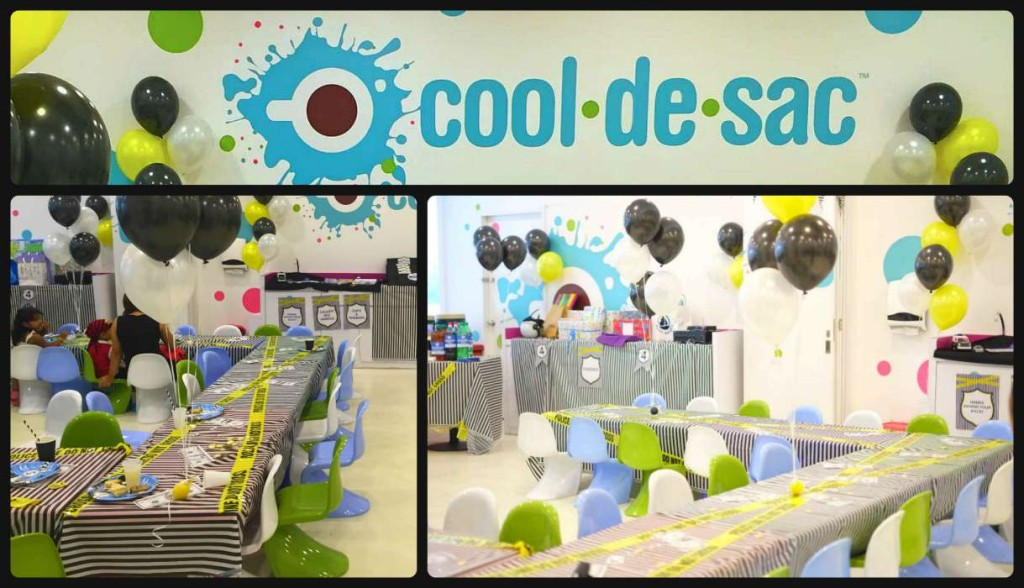 Kids Birthday Party Cool de Sac Suntec Singapore