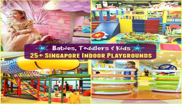 25+ Indoor Playgrounds for Babies, Toddlers & Kids in Singapore