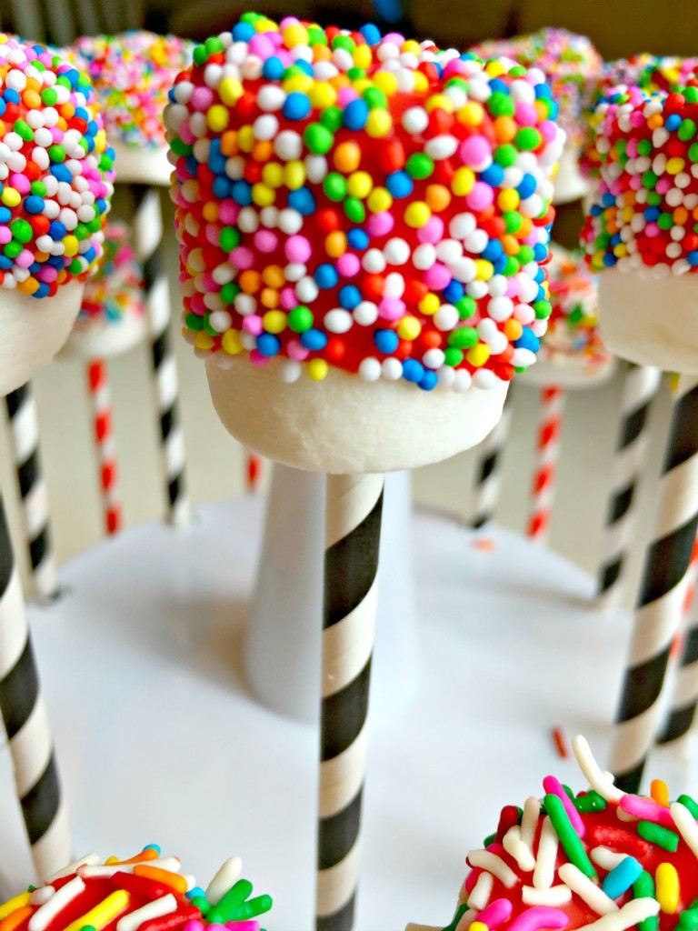 How to Make Marshmallow Cake Pops Kids Birthday Party Dessert