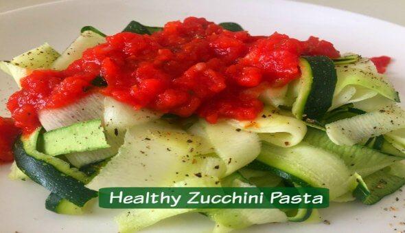 Healthy Zucchini Pasta Recipe