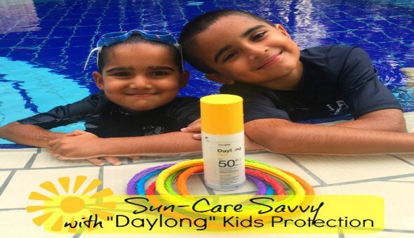 "Be Sun-Care Savvy with ""Daylong"" Kids Protection"