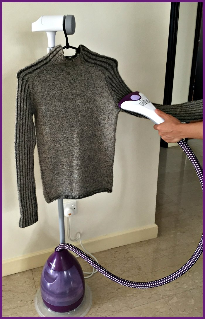 Philips ClearTouch Essence Garment Steamer Review Iron Dry Cleaner Singapore Best