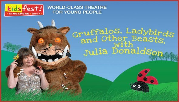 "Win Tickets for Julia Donaldson's ""Gruffalos, Ladybirds and other Beasts"""