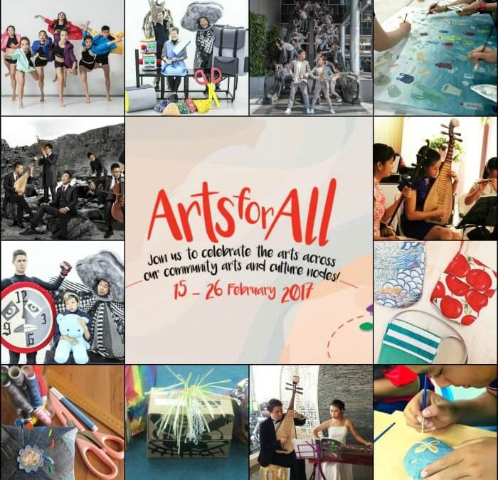 """Arts for All"" – Right in Your Own Community!"
