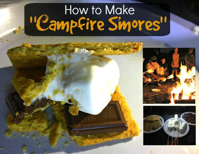 "How to Make ""Campfire"" S'mores"