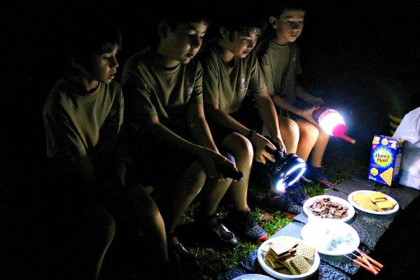 Smores Recipe Dessert Camping Kids Singapore Easy No Bake Cooking