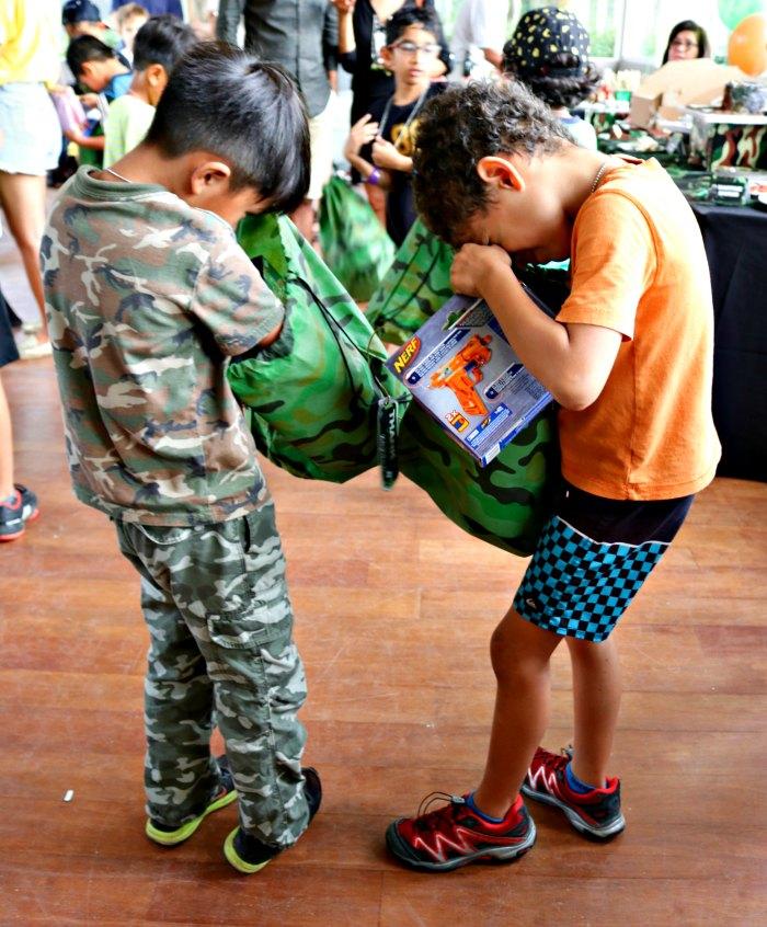 Camouflage Military Camo Army Kids Boys Birthday Party Ideas Laser Tag NERF Singapore