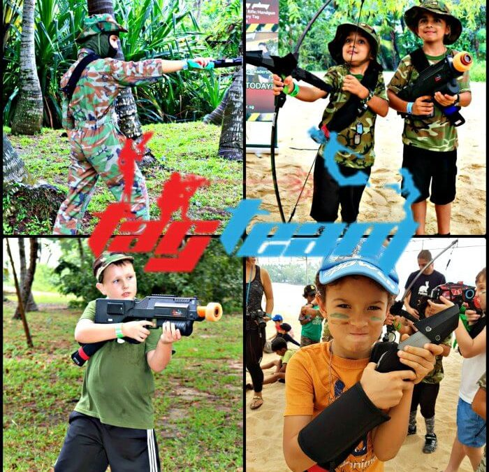 "A Kid's ""Laser Tag"" Birthday Party by Tag Team"