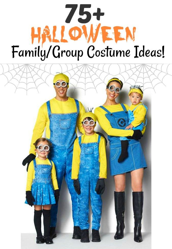 75 Halloween Family Group Costume Ideas