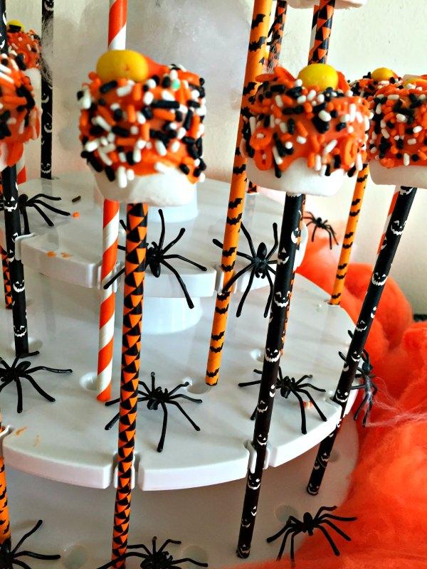 12 Halloween Marshmallow Pop Dessert Party Food Ideas