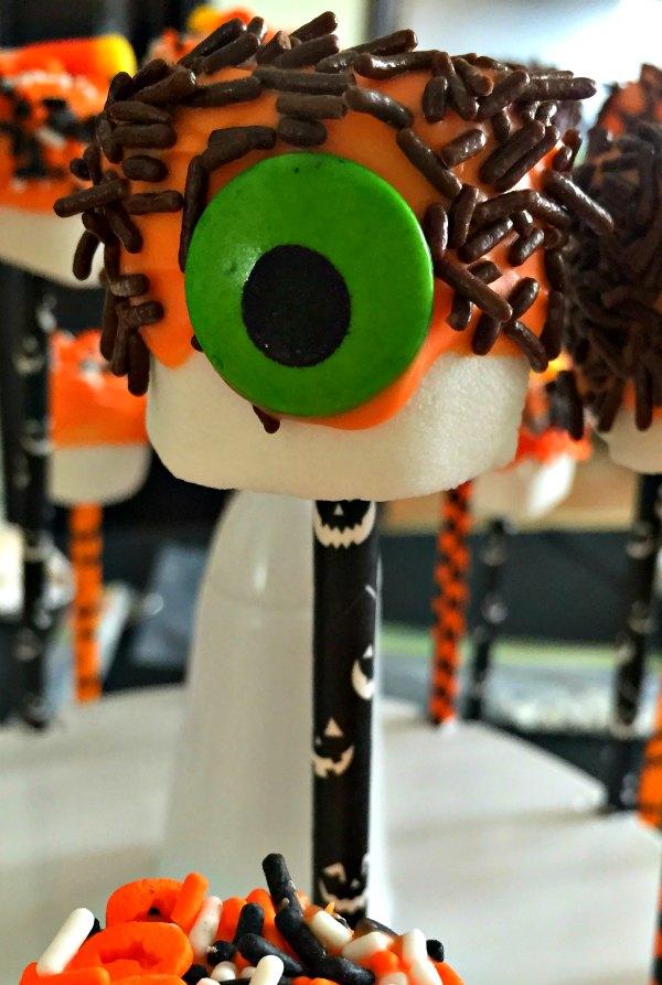 14 Halloween Marshmallow Pop Dessert Party Food Ideas Monster Candy