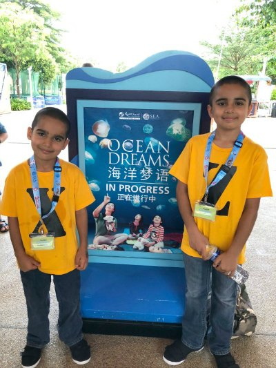 1 Ocean Dreams Sleepover Resorts World SEA Aquarium Hotel Suites Kids Activities Singapore