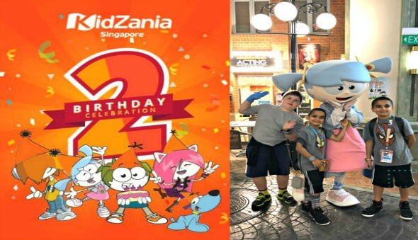 Double the fun at KidZania this April as they celebrate 2 years!