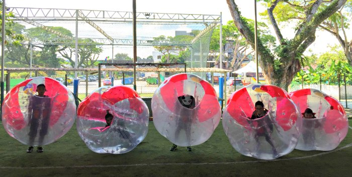 Bubble Soccer Bump Singapore Kids Birthday Party Package Venue 6