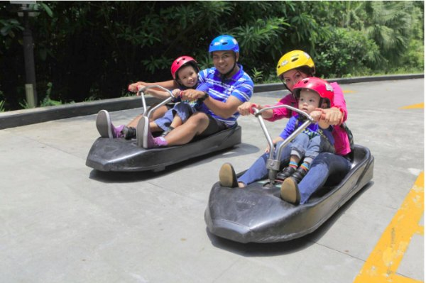 Sentosa Singapore Luge Things to do with kids Luge Promotions Discounts