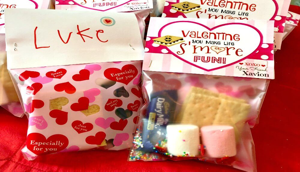 """D.I.Y. """"S'mores Valentines Day"""" Cards / Free Printable Included"""