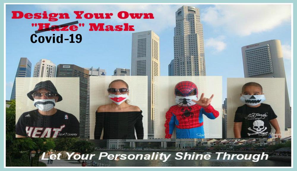 How to Make Designer 'Covid-19' Masks!