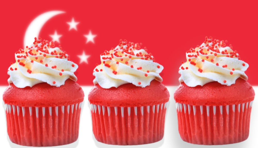 Singapore National Day Themed Dessert, Drinks & Food Ideas