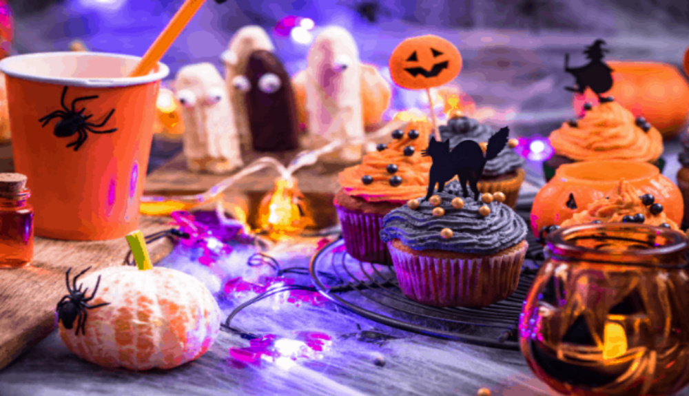 Spooky Halloween Themed Party Food